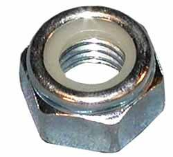 Nut - Self Locking - 8 X 1.25