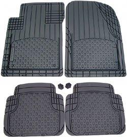 WeatherTech Avm All Vehicle Trim-To-Fit Mat Set (4 Mats) Black