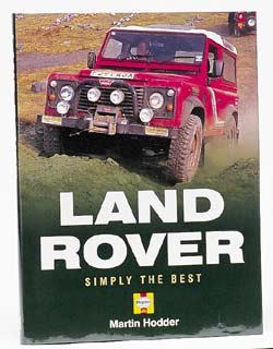 Book - Land Rover Simply The Best