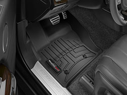 Floorliner, Front Pair, Black For Range Rover Full Size And Discovery 5