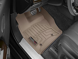 Floorliner™ Molded Mat By Weathertech® Front Pair Tan