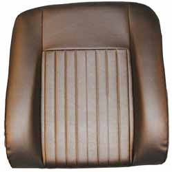 Seat Back Deluxe - Outer (Black)