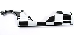 Dash Trim - Checkerboard - Drivers Side - Left Hand