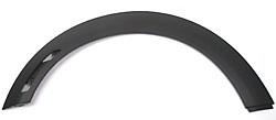 Wheel Arch Molding Rear Right Black