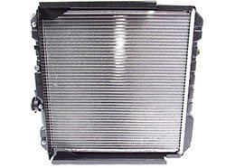 Radiator Assembly 2.25, 3-Row, For Land Rover Series 2, 2A And 3