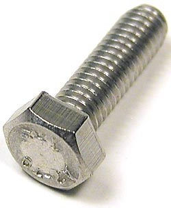 Bolt Hex Cap M6 X 20 Stainless Steel