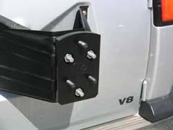 Spare Tire Relocator For Land Rover Discovery 1