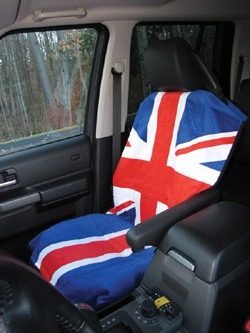 seat cover - Union Jack