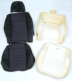 Defender 90 Seat Retrim Kit - foam and cover