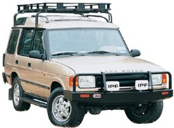roof rack for the Land Rover