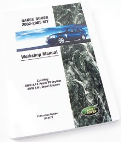 Range Rover Workshop Manual
