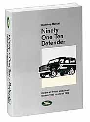 Ninety One Ten Defender Workshop Manual