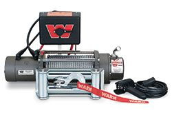 Warn Winch M8000: Fits ARB Bull Bar Bumpers (8,000 Lb. Capacity)
