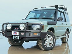 Land Rover ARB Bull Bar and Winch Bumper