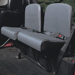 Trakker Rear Jump Seats - Twill Vinyl - Pair