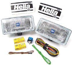 Hella fog light kit
