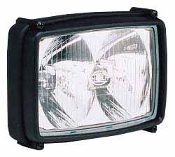 Hella Work Lamp - Double Reflector
