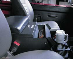 Land Rover Console