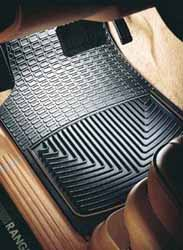 WeatherTech Classic Premium Rubber Floor Mat, Rear Footwell, Black, For Land Rovers And Range Rovers (See Fitments)