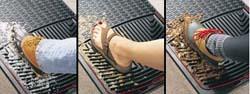 Weathertech® Classic Premium Rubber Floor Mats - Front Set - Tan