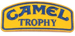 Camel Trophy Patch