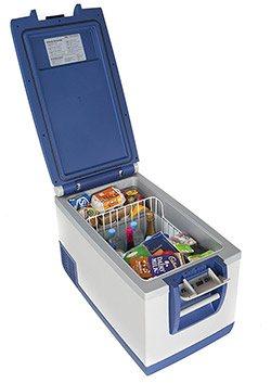 travel refrigerator and freezer