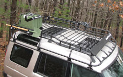 Land Rover Discovery Roof Rack - installed