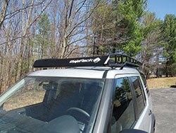 BajaRack roof rack installed on Land Rover