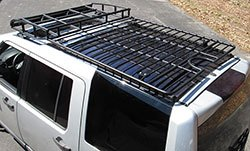 BajaRack Expedition Roof Rack installed on Rover