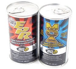 BG EPR Engine Performance Restore & MOA Engine Oil Supplement Kit: Two 11 Oz Cans