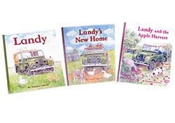 Books: Landy Series, Children's Land Rover Series Storybooks (Set Of 3 Books)