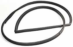 Genuine On-Body Door Seal CFE500590, Left Front, For Land Rover Discovery I 1994 - 1996 And Discovery Series II