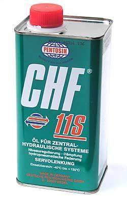 Hydraulic Fluid, Pentosin CHF 11S, 1 Liter