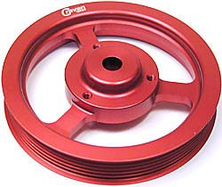 Crank Pulley - 2% Oversize - Lightened - By Craven Speed