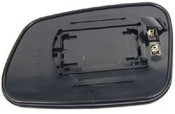 Land Rover replacement glass mirror - backside