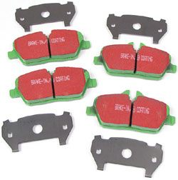 Front Brake Pads: EBC Performance Greenstuff