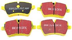 EBC Yellow Stuff Performance Front Brake Pads: MINI Cooper Hatchback, MINI Cooper S, MINI Cooper Countryman