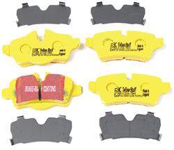 EBC Yellow Stuff Performance Rear Brake Pads For MINI Cooper Hatchback