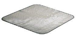 Diamond Plate Chair Mat By PitStop