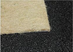 corner of carpet