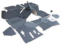 Exmoor Trim Premium carpet set - Defender