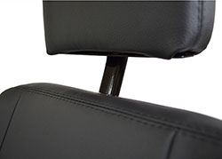 Exmoor Trim front seat headrest