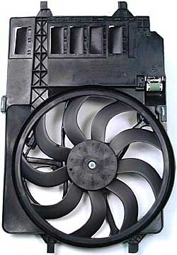 Fan And Motor Assembly - Cooling