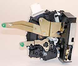 Land Rover actuator