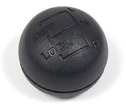 Genuine Shift Knob For Transfer Case And Differential Lock On Land Rover Defender 90