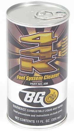 BG 44K Fuel System Cleaner 11 Oz