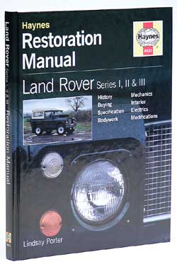 Land Rover Haynes Manual