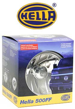 Hella 500FF driving lamp