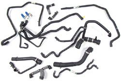 Coolant Hose Kit, 10-Hose Replacement Set, For Range Rover Full Size Supercharged 4.2L, 2006 - 2009