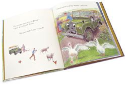 Book: Landy's New Home, A Children's Land Rover Series Storybook
